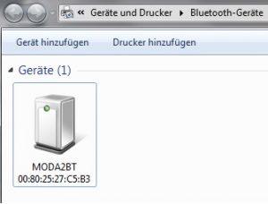 Abbildung 3c: Übersicht Bluetooth-Geräte