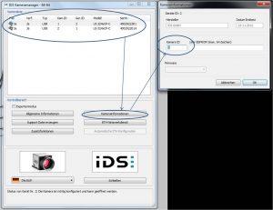 Abbildung 6: Ändern der Kamera-ID