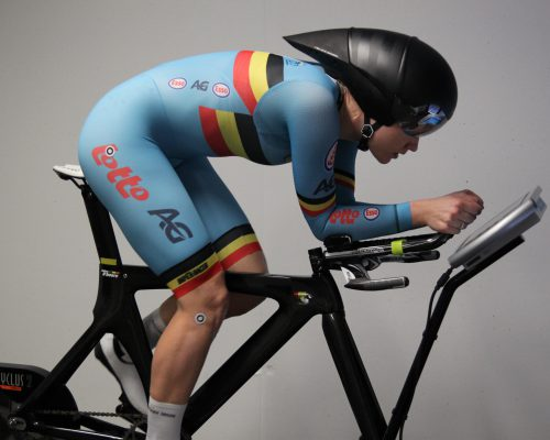 Pre Aero Fitting Session with Jolien d'Hoore from the Belgian National Team