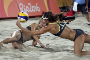 Beach Volleyball Gold Gebiomized