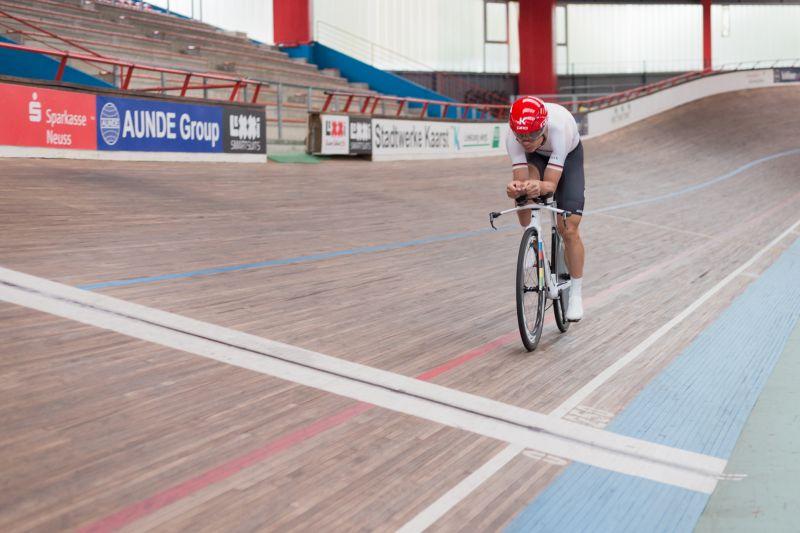 Aerodynamik-Test mit Tony Martin zur Vorbereitung auf die Tour de France