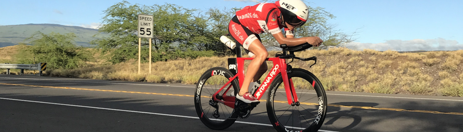 Swim! Bike! Run! Lasse Ibert auf Hawaii.