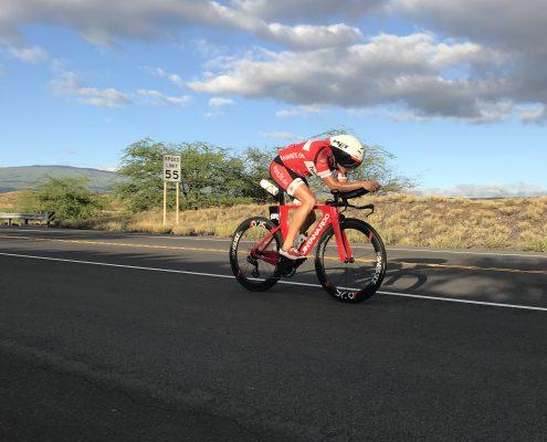 Bike: Lasse Ibert auf Hawaii