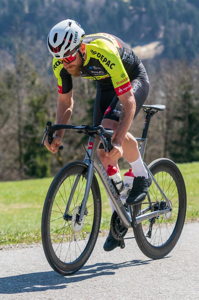 Filippo Fortin vom Team Vorarlberg